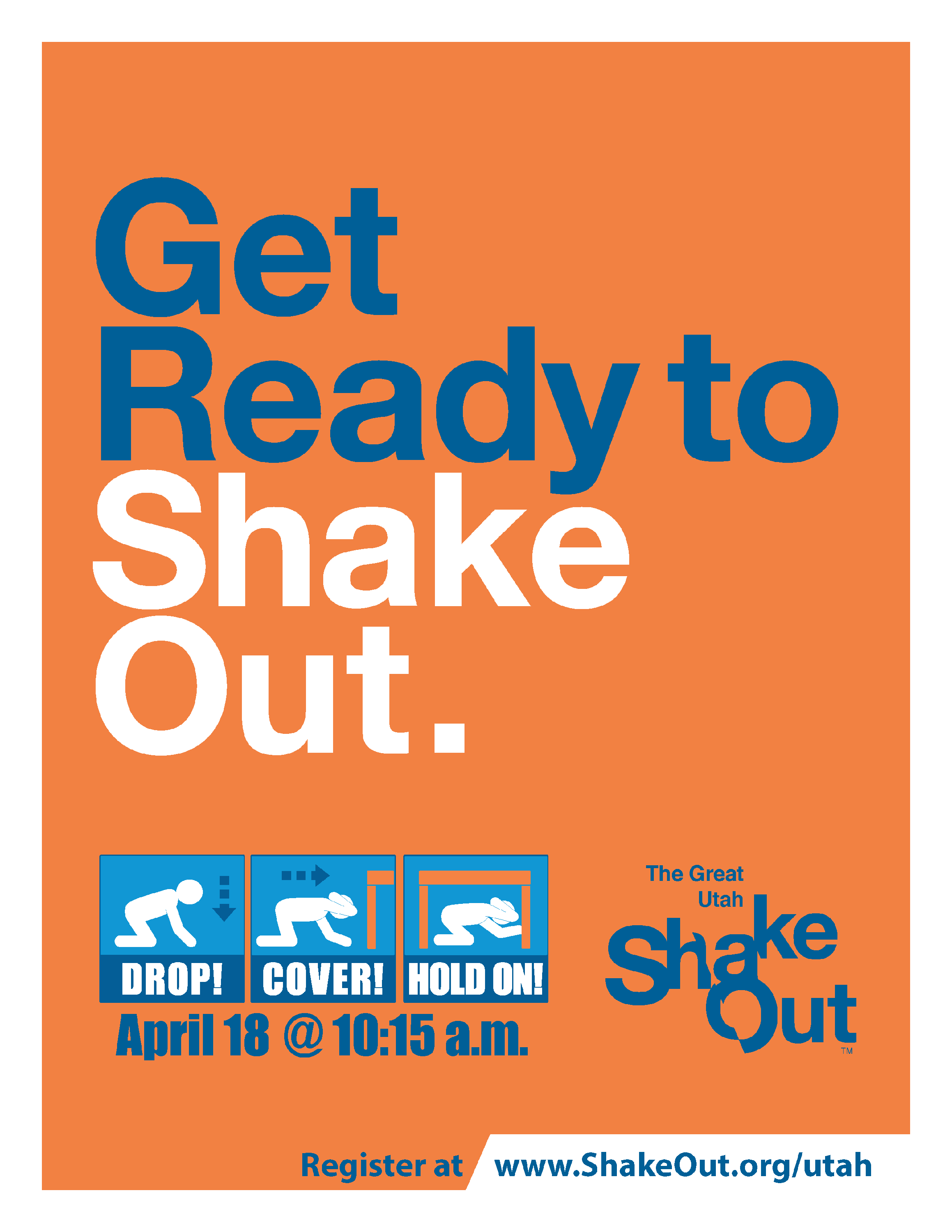 Get ready to shake out. April 18, 2019.